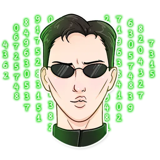 THE MATRIX - Sticker 12