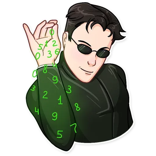 THE MATRIX - Sticker 11