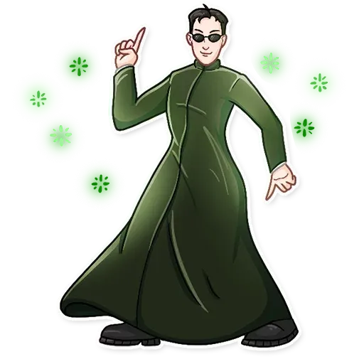 THE MATRIX - Sticker 13