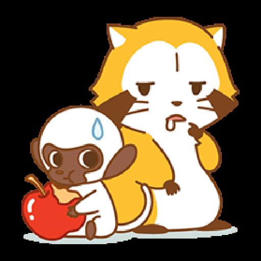 小浣熊(LOVE篇) #1 - Sticker 19