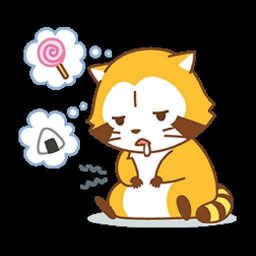 小浣熊(LOVE篇) #1 - Sticker 20