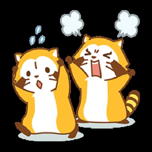 小浣熊(LOVE篇) #1 - Sticker 15