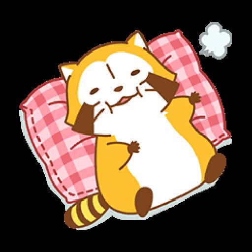 小浣熊(LOVE篇) #1 - Sticker 17