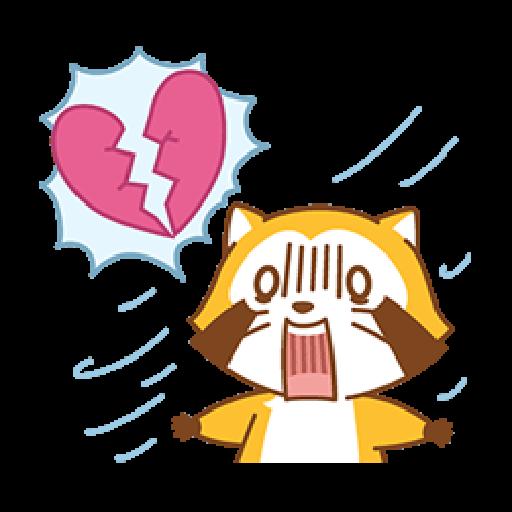 小浣熊(LOVE篇) #1 - Sticker 4