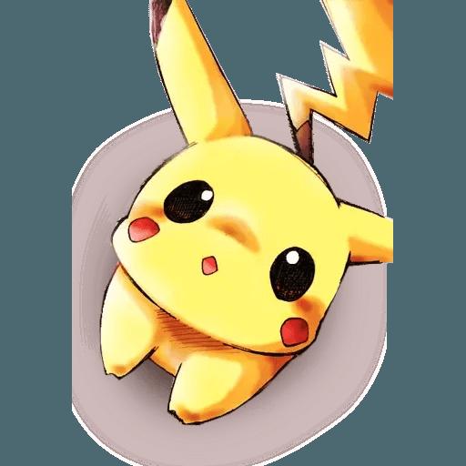 Pikachu 2 - Sticker 8