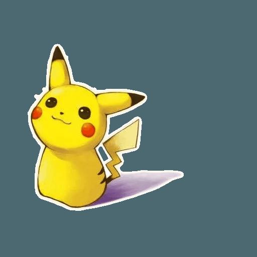 Pikachu 2 - Sticker 13