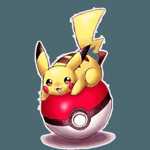 Pikachu 2 - Sticker 29
