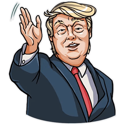 Mr. Trump - Sticker 8