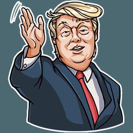 Mr. Trump - Sticker 8