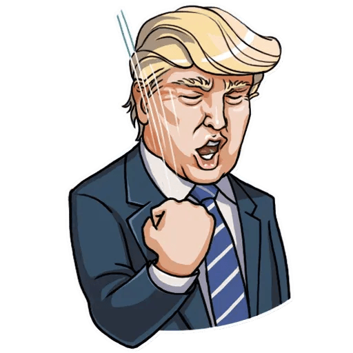 Mr. Trump - Sticker 24