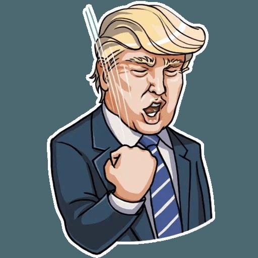 Mr. Trump - Sticker 24
