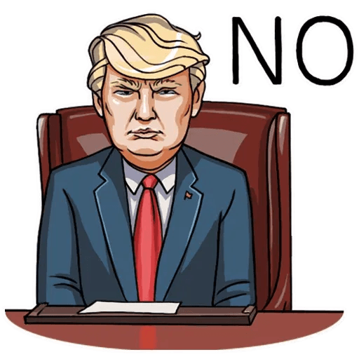 Mr. Trump - Sticker 28