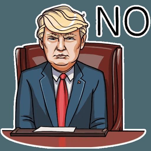 Mr. Trump - Sticker 28