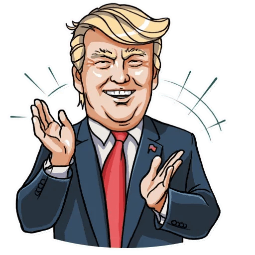 Mr. Trump - Sticker 18