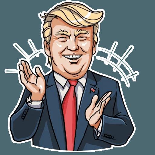 Mr. Trump - Sticker 18