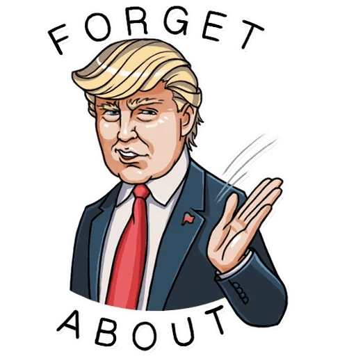 Mr. Trump - Sticker 23