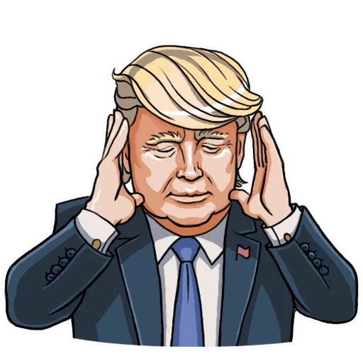 Mr. Trump - Sticker 4