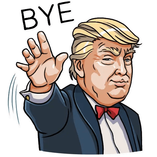 Mr. Trump - Sticker 25