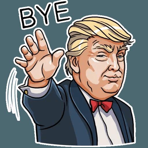 Mr. Trump - Sticker 25