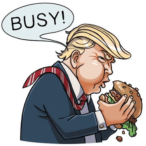 Mr. Trump - Sticker 16