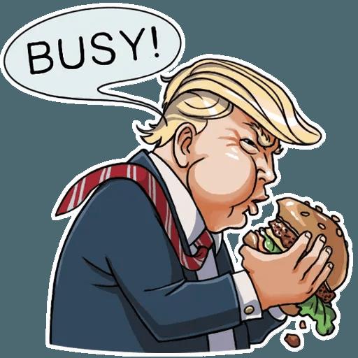 Mr. Trump - Sticker 16