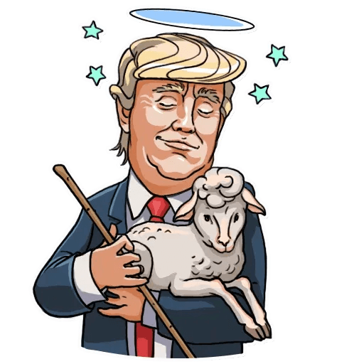 Mr. Trump - Sticker 11