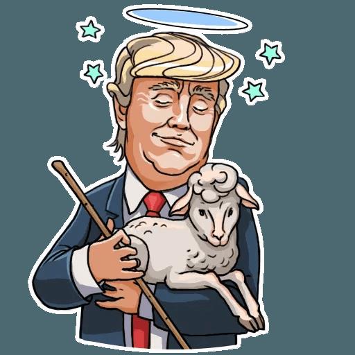 Mr. Trump - Sticker 11