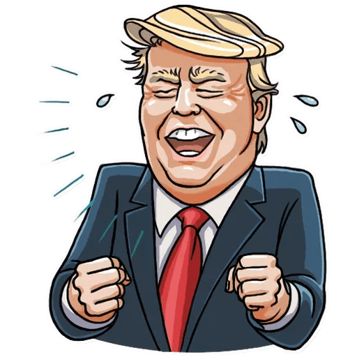 Mr. Trump - Sticker 2