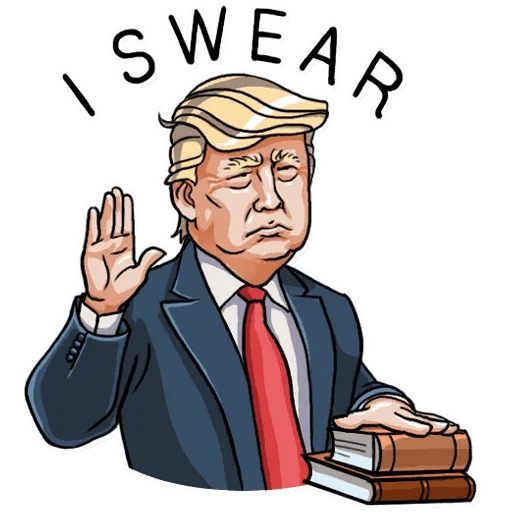 Mr. Trump - Sticker 7