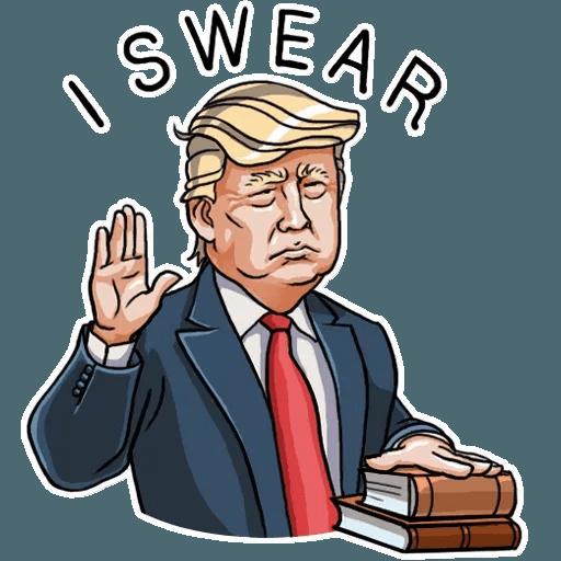 Mr. Trump - Sticker 7