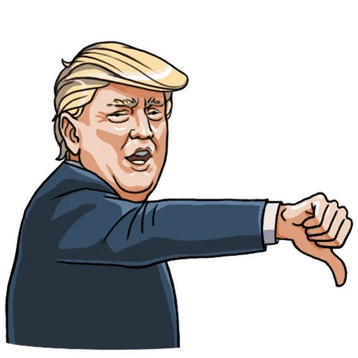Mr. Trump - Sticker 13