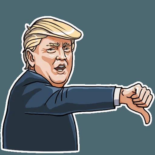 Mr. Trump - Sticker 13