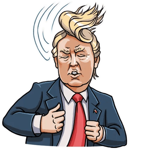 Mr. Trump - Sticker 29