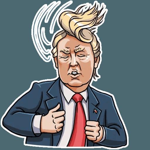 Mr. Trump - Sticker 29