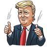 Mr. Trump - Tray Sticker