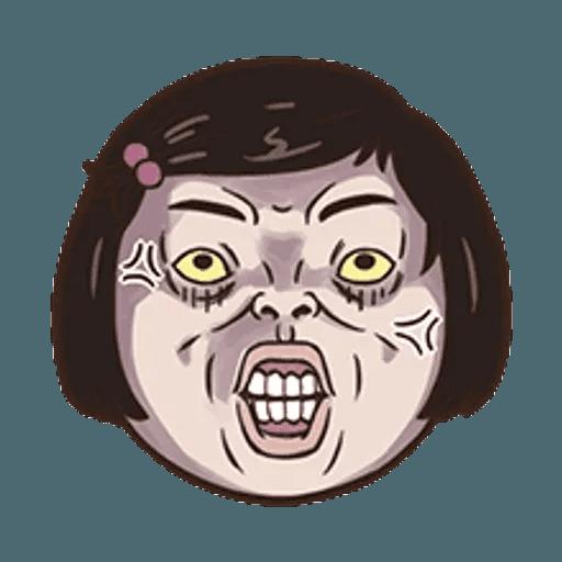 小朋友的表情貼 - Sticker 24