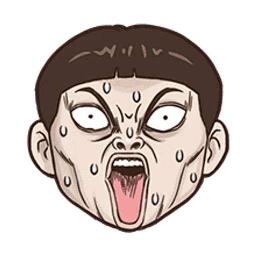 小朋友的表情貼 - Sticker 7