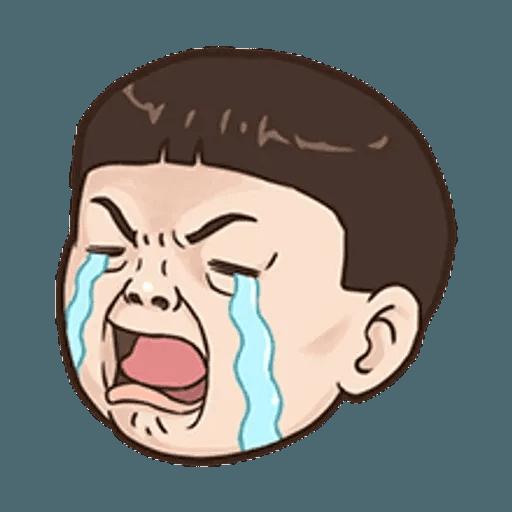小朋友的表情貼 - Sticker 21