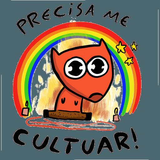 Um Sábado Qualquer - Sticker 5