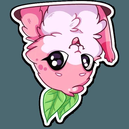 Pinky Bunny - Tray Sticker