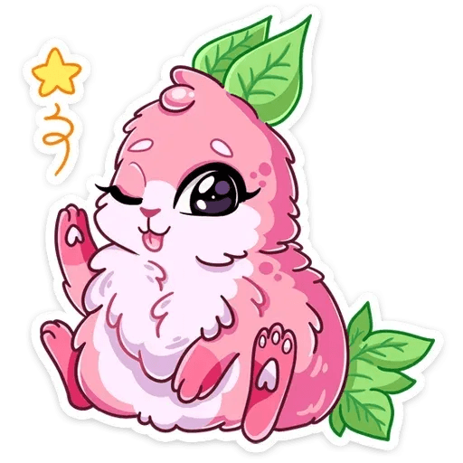 Pinky Bunny - Sticker 23