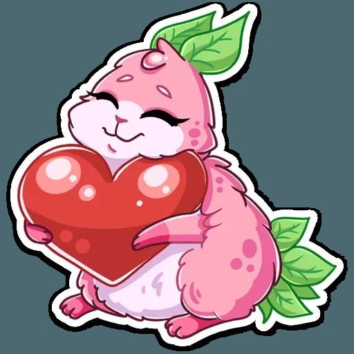 Pinky Bunny - Sticker 12