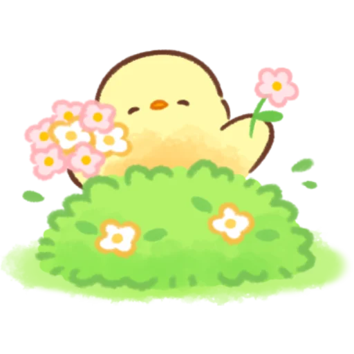 soft and cute chick 11 - Sticker 24