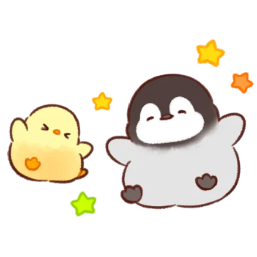 soft and cute chick 11 - Sticker 15