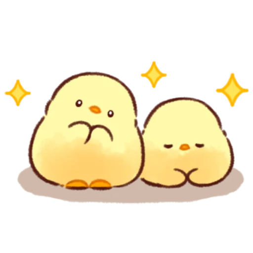soft and cute chick 11 - Sticker 17