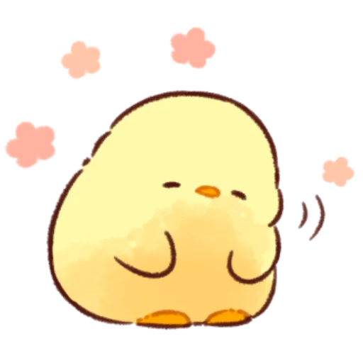 soft and cute chick 11 - Sticker 18