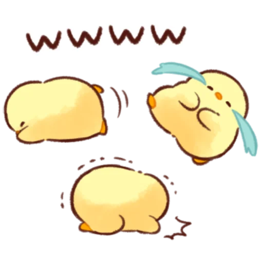 soft and cute chick 11 - Sticker 20