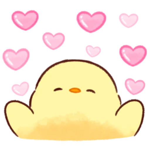 soft and cute chick 11 - Sticker 30