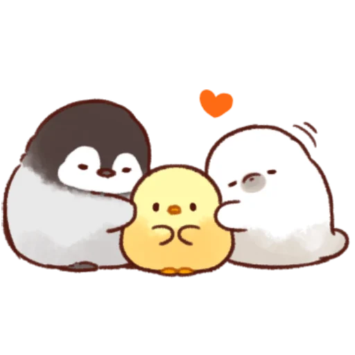 soft and cute chick 11 - Sticker 4