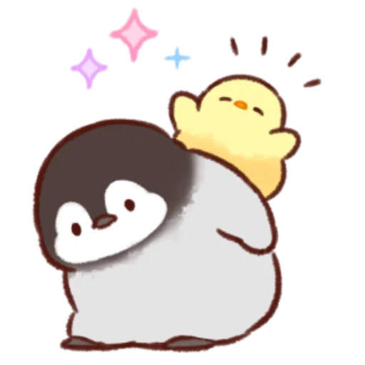 soft and cute chick 11 - Sticker 9